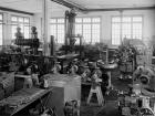 Pumpenfabrik Emile Egger in Cressier, Neuenburg (CH) Anfang der 1950er Jahre (Bild: Emile Egger)