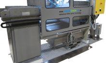 1: Die komplett eingehausten Membranfilterpressen mit abgedichteten Filterplatten vermeiden das Austreten von Suspension und minimieren so das Risiko von Schäden bei Mensch und Maschine. Bilder: Aquachem