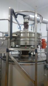 GKM Hebevorrichtung für Siebmaschinen gkm3