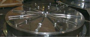 Heinkel Comber Heel-Break-System