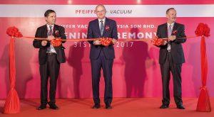 Eröffnung des Service Center von Pfeiffer Vacuum in Malaysia (Bild: Pfeiffer Vacuum)