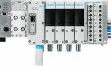 4: Die Automatisierung soll einfacher werden: Festo hat dafür eine neue Pneumatikplattform entwickelt, bei der Mechanik, Elektronik und Software funktional getrennt sind. Bild: Festo