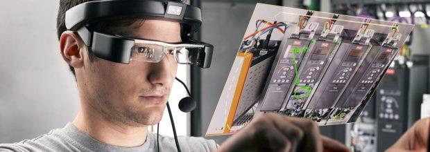 1: Die Digitalisierung von Anlagenkomponenten hat nicht nur bei Wartungsprozessen Potenzial. Im Bild zu sehen ist die Augmented Reality-Lösung von GEA, mit der das Unternehmen Servicekosten senken will. Bild: GEA