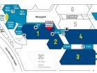 Hallenplan der Powtech 2017 - Bild: Nürnbergmesse
