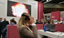 VR-Technik am Stand von IEP