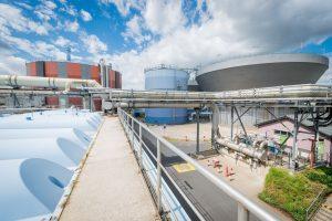 Die Abwasseranlage im Industriepark Höchst