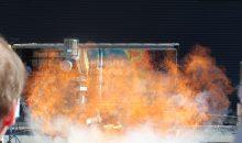 flammenlose Druckentlastung