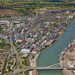Weltweit betreibt die BASF sechs Verbundstandorte, der größte darunter ist das Werk in Ludwigshafen. (Bild: BASF)