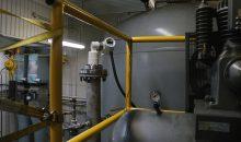 ABB 01 Laser-Füllstandmessgeräte können auch in sehr engen Einbauverhältnissen zuverlässige Messergebnisse liefern