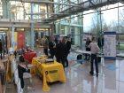Die Fachausstellung bot den anwesenden Herstellern und Sponsoren Gelegenheit zum Austausch mit Anwendern. (Bild: Redaktion)