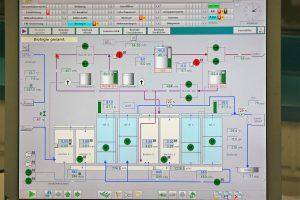 Über das Prozessleitsystem kann der Betreiber alle Verbrauchs- und Betriebsdaten einsehen. Bild: Leipa