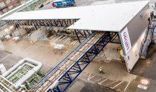 Im Rahmen des Investitionsprojekts hat Saltigo seine Lagermöglichkeiten um ein aktives Containerlager erweitert. (Bild: Saltigo)