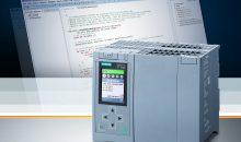 Das Portfolio der Advanced Controller Simatic S7-1500 für anspruchsvollere Anwendungen erweitert Siemens um eine neuartige Multifunktionale Plattform. Mit der Multifunktionalen Plattform CPU 1518(F)-4 PN/DP MFP lassen sich Hochsprachenfunktionen integrieren sowie eigenständige Applikationen einfach erstellen und wiederverwenden. Die Multifunktionale Plattform kombiniert eine typische Steuerung mit bisher auf einem PC ausgelagerten Aufgaben.  Siemens has expanded its Simatic S7-1500 Advanced Controller portfolio for more challenging applications to include a new type of multifunctional platform. The CPU 1518(F)-4 PN/DP MFP multifunctional platform enables high-level language functions to be integrated and stand-alone applications to be easily created and reused. The multifunctional platform combines a typical controller with tasks that had previously been outsourced to a PC.