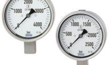 Wika Hochdruckmanometer PG23HP-P und -S
