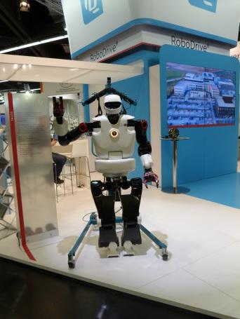 1_Bei TQ-Systems gab es Vorträge unter anderem zum Thema Cobots - mit Anschauungsmaterial.