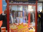 Für Besucher gab es am Hüthig-Stand eine frische Portion Popcorn.