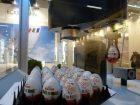 Ob im Ü-Ei auch wirklich das richtige steckt, konnten Besucher am Stand von Eckelmann erfahren.
