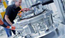 Auftragseingang im Maschinenbau im Oktober: Ausland bleibt stark, Inland holt auf. (Bild: Bosch)