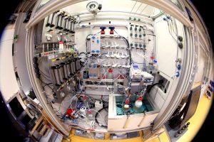 Evonik, Chemie, Fermenter in Marl, Projekt Rheticus