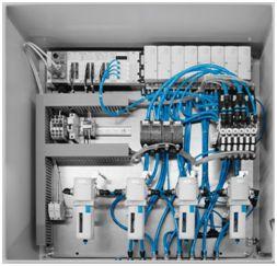 Festo Inertgasstation zur Druck- und Durchflussregelung inerter Gase für Reaktoren und Gleitringdichtungen