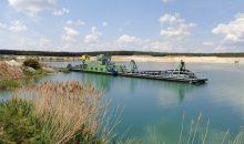Habermann Mineral Systems stellte Saugbagger für die Sand- und Kieselindustrie her. (Bild: Düchting)