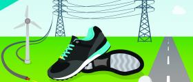Organische Peroxide sind essentiell für die Produktion von so unterschiedlichen Dingen wie Windkraftanlagen, Hochspannungsleitungen, Fahrbahnmarkierungen, Schuhsohlen und Golfbällen. (Bild: Akzonobel)