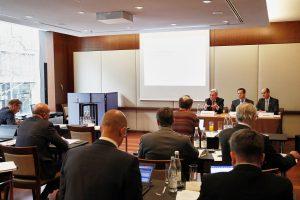 Auf der Bilanz-Pressekonferenz am 14.2.2018 in Zürich konnte Clariant ein Umsatz- und Gewinnwachstum präsentieren. (Bild: Clariant)