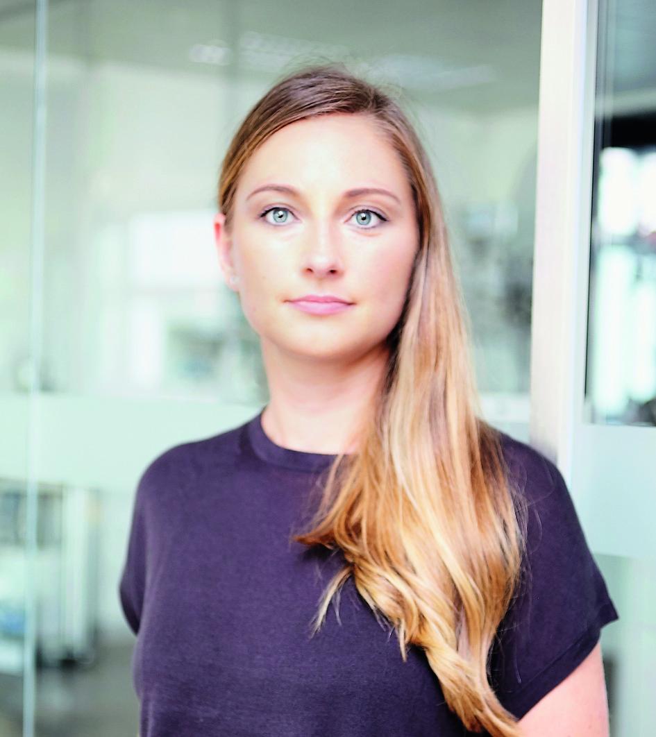 Elisabeth Naderer, Marketingleiterin,  Viscotec