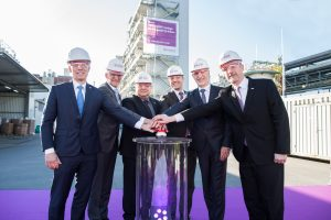 Die neue P12-Produktionsanlage in Marl wurde am 14.2.2018 eröffnet. (Bild: Evonik)