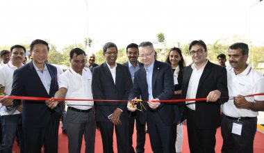 Akzonobel hat in Thale, Indien, eine Anlage für Pulverbeschichtungen in Betrieb genommen. (Bild: Akzonobel)