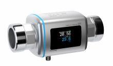 2: Das Messgerät Picomag erfasst den Durchfluss von  elektrisch leitfähigen Medien und gleichzeitig auch deren Prozesstemperatur. Bild: Endress+Hauser