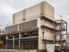 Der für das Automatisierungsprojekt ausgewählte Modellkühlturm am  Chempark Standort Krefeld-Uerdingen.