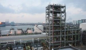 Am Standort Rotterdam produziert Neste erneuerbare Brennstoffe. (Bild: Neste)