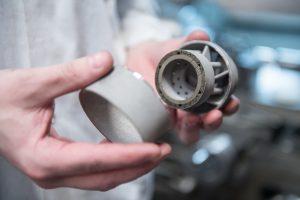 Materials Solutions fertigt unter anderem Brennerköpfe für Siemens-Gasturbinen. (Bild: Siemens)