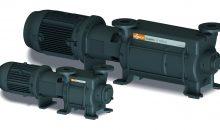 1: Flüssigkeitsring-Vakuumpumpen sind besonders robust und werden in vielen Chemieprozessen eingesetzt. Im Bild: System Dolphin der Firma Busch. Bilder: Busch Dienste
