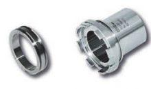 Eine metallisch gedichtete Rohrverschraubung erreicht Helium-Leckraten von 10-12 mbar l/s – und kann in einem extremen Temperaturbereich eingesetzt werden. (Bild: Schwer Fittings)