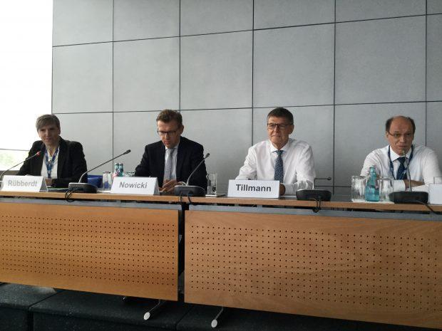 Eröffnungspressekonferenz zur Achema 2018. Bild: Redaktion