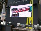 Netzsch zeigte ein cleveres System, mit dem Statoren