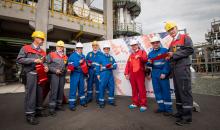 Mit dem 60-Mio.-Euro-Projekt wollen die Partner Domo und Total sowie die Betreibergesellschaft des Chemieparks Infraleuna wettbewerbsfähiger werden. (Bild: Infraleuna / Total / Domo)