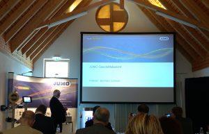 Bernhard Juchheim, geschäftsführender Gesellschafter von Jumo, hatte auf der Jahrespressekonferenz Positives zu vermelden. (Bild: Jumo)
