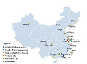 Aktivitäten der BASF in China - Bild BASF
