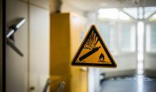 02.03.2018 Mannheim, Universitätsmedizin: asecos-Sicherheitsschränke im praktischen Einsatz in der Universitätsklinik. © Stefan Gregor -Fotograf-  Hasselstraße 29  63762 Großostheim  Tel. (06026) 5525, Mobil (0172) 6630076  E-Mail: info@fotografie-gregor.de