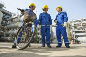 Ethylene Unit at BASF-YPC Company Limited / Ethylen-Anlage in der BASF-YPC Company Limited