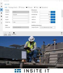 Mittels GPS wird die Position der Materialien erfasst. Am Dashboard ist der gesamte Prozessfortschritt abgebildet. (Bild: Insite IT)
