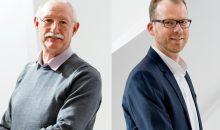 Michael Sick (r.) ist der Nachfolger von Heinz Lauinger (l.) an. (Bild: Auma)