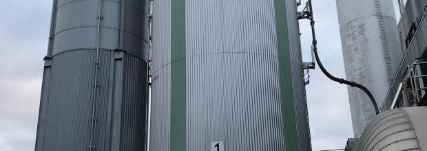 Aufstellung des 400m³ Silo neben Bestandsilo_2