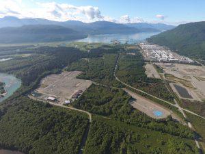 Der Standort des Projekts LNG Canada liegt in Kitimat, an der Westküste Kanadas. (Bild: Fluor)
