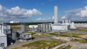 Evonik startet die Produktion von gefällter Kieselsäure für die Reifenindustrie in South Carolina im Südosten der USA. (Bild: Evonik)