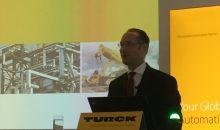 Turck-Geschäftsführer Christian Wolf zeigte sich erfreut über starkes Umsatzwachstum in allen Regionen. (Bild: Redaktion)