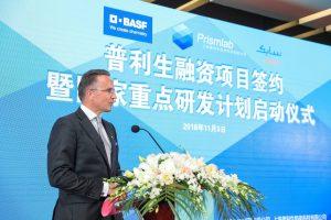 Markus Solibieda, Geschäftsführer von BASF Venture Capital, ist von der Prismlab-Technologie überzeugt. (Bild: BASF)